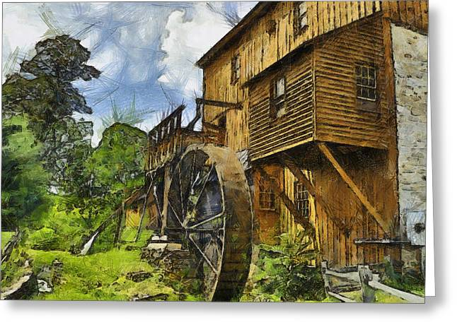 Wade's Mill Greeting Card