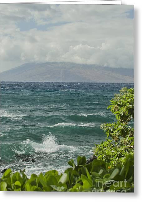 Wailea Point Maui Hawaii Greeting Card