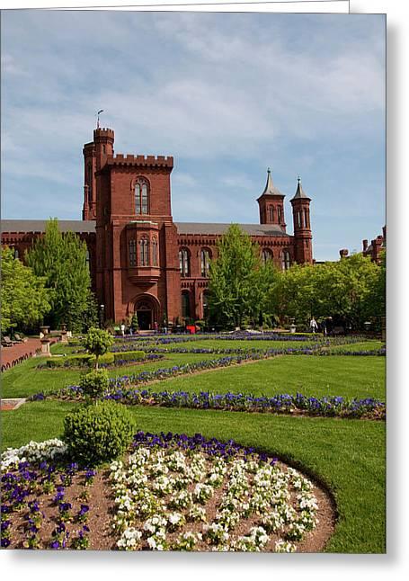Washington Dc, Smithsonian Headquarters Greeting Card