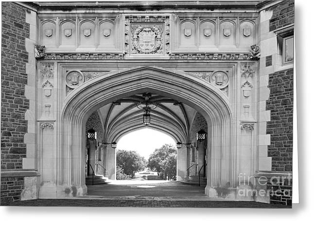 Washington University Brookings Hall Greeting Card by University Icons