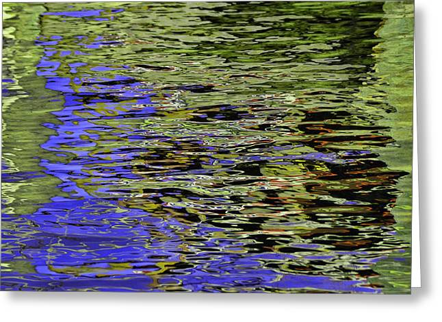 Water Reflections 5 Greeting Card