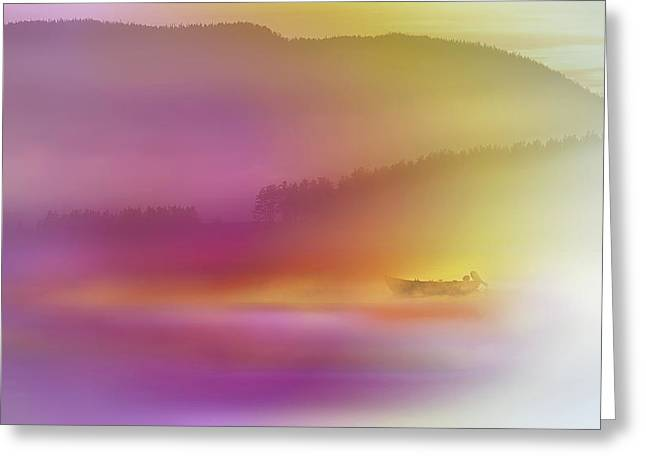 Watercolor Seascape Greeting Card