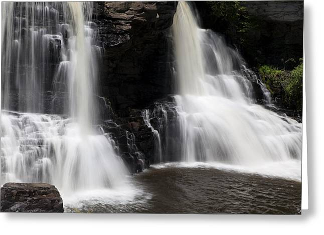 Waterfall 2 Greeting Card by David Lester