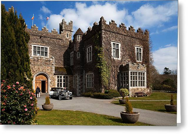 Waterford Castle , County Waterford Greeting Card by Panoramic Images