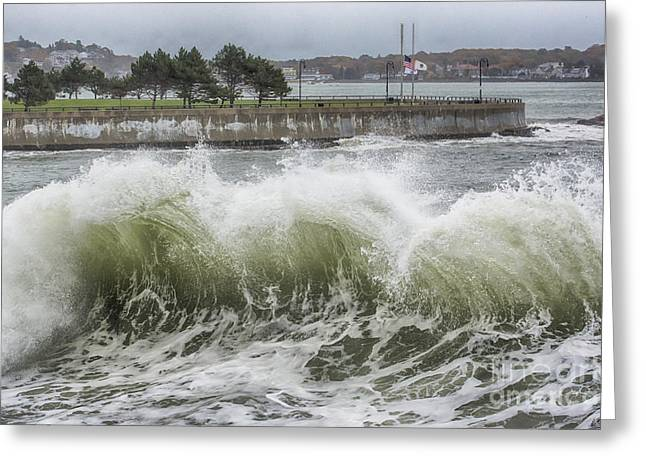 Wave Action Greeting Card