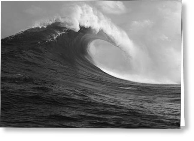 Waves In The Sea, Maui, Hawaii, Usa Greeting Card by Panoramic Images