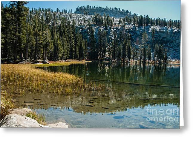 Weaver Lake- 1-7686 Greeting Card