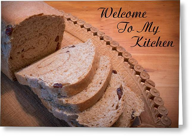 Welcome To My Kitchen Greeting Card