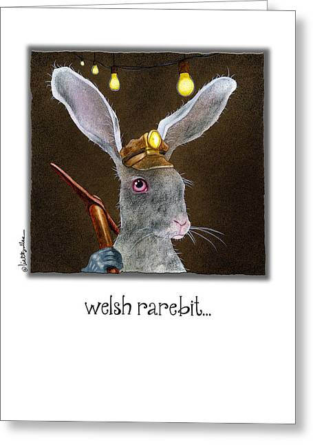Welsh Rarebit... Greeting Card