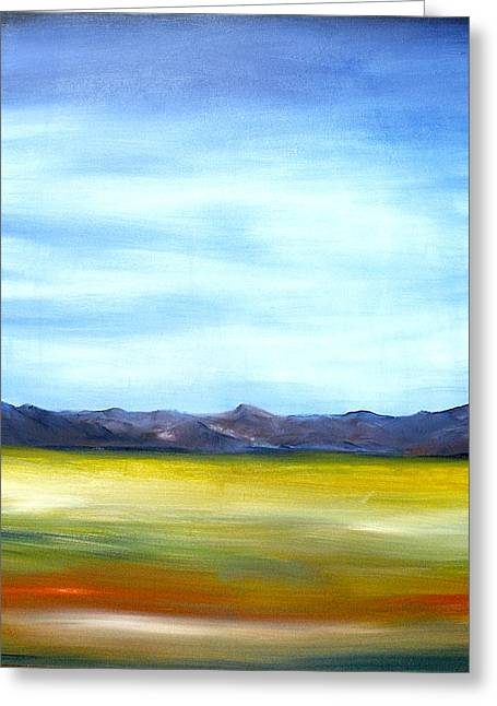 West Texas Landscape Greeting Card