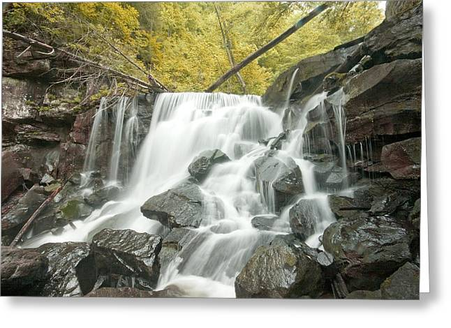 West Virginia Waterfall Greeting Card