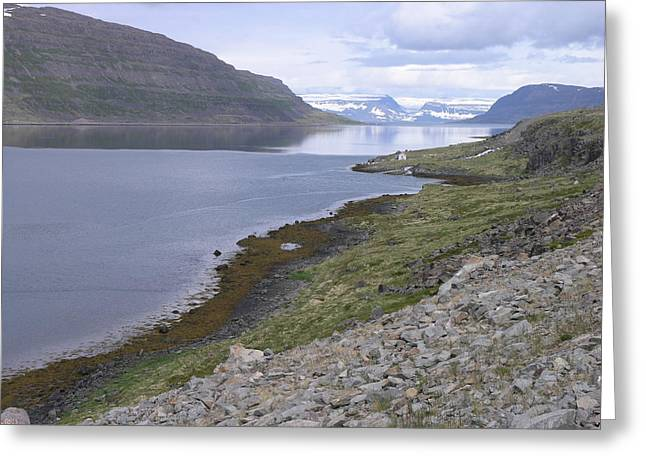 Greeting Card featuring the photograph Westfjords by Christian Zesewitz