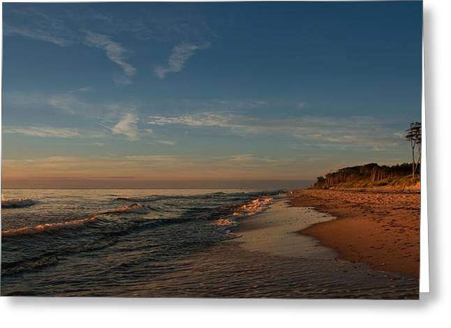 Weststrand Greeting Card by Steffen Gierok