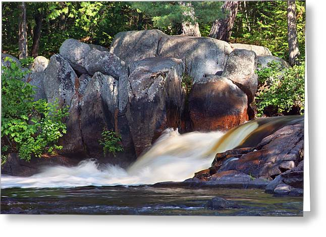 Where Tranquil Waters Run Greeting Card by Leda Robertson