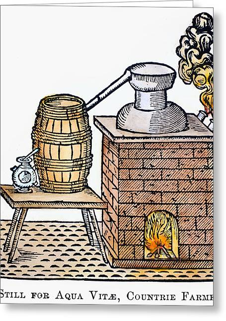 Whiskey Still, 1616 Greeting Card by Granger