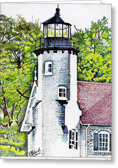 White River Station Greeting Card