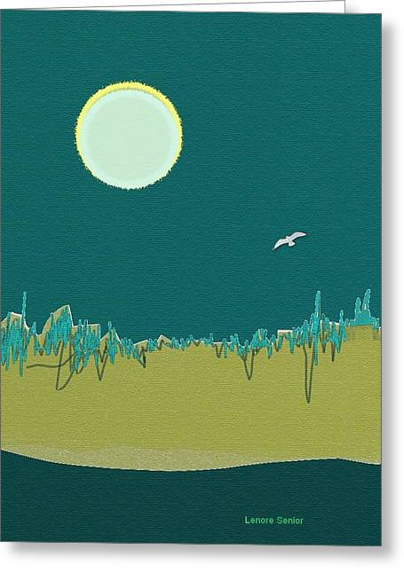 Wild Grasses Greeting Card by Lenore Senior