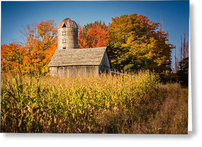 Wildwood Farm In Fall Greeting Card