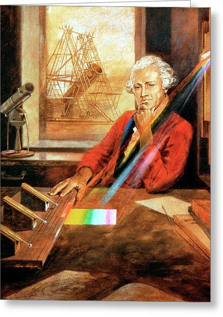 William Herschel Greeting Card by Universal History Archive/uig