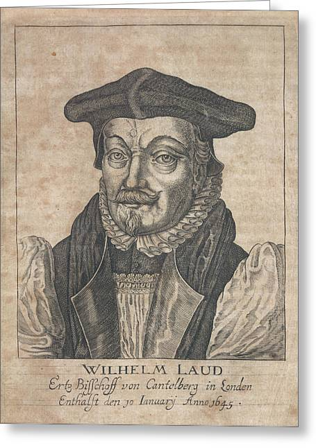 William Laud Greeting Card by British Library