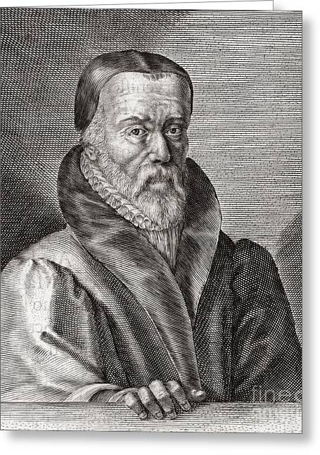 William Tyndale, English Scholar Greeting Card by Middle Temple Library