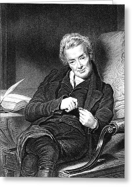 William Wilberforce Greeting Card by Collection Abecasis