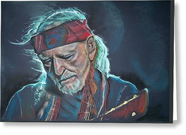 Willie Greeting Card by Peter Suhocke