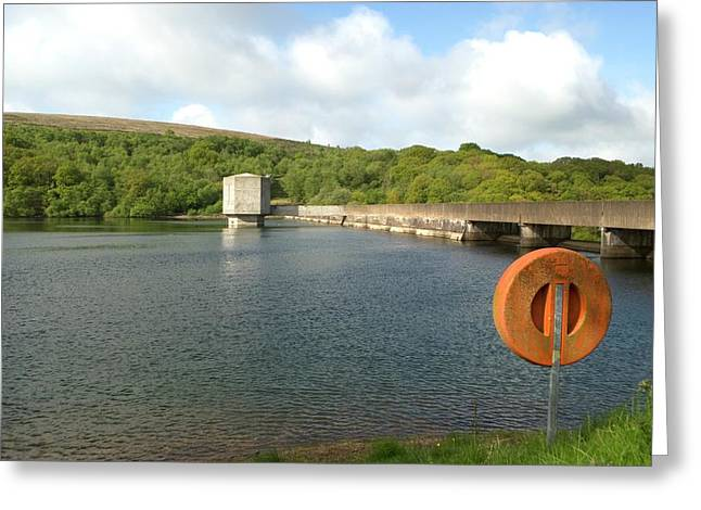 Wimbleball Reservoir Greeting Card