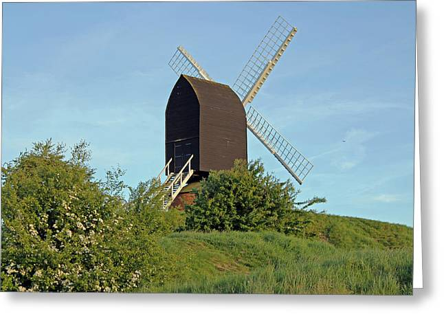 Windmill On Brill Common Greeting Card