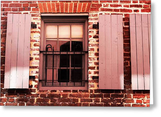 Window Greeting Card by Michael Byerley