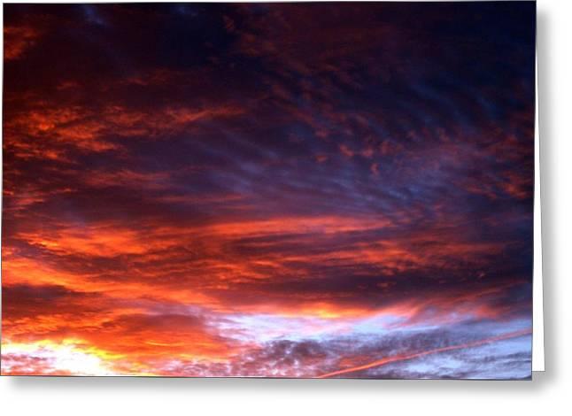 Windows Of Heaven Greeting Card by Julia  Walsh