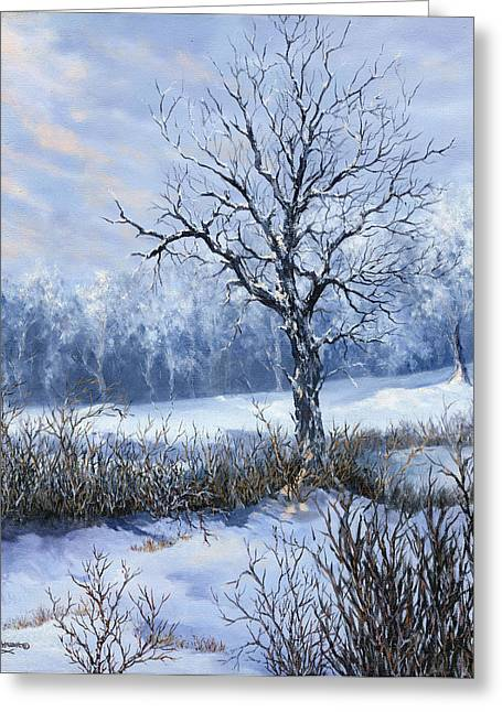 Winter Slumber Greeting Card