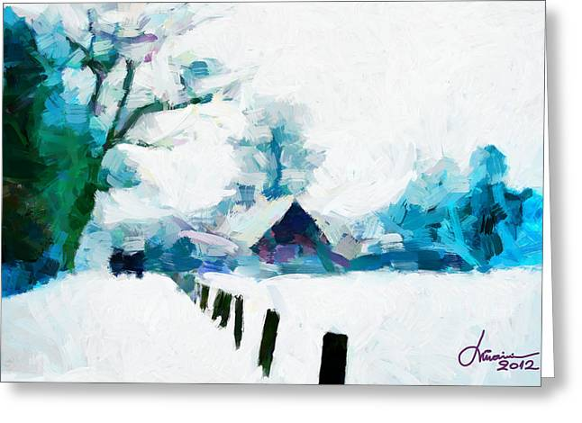 Winter Tales Tnm Greeting Card by Vincent DiNovici