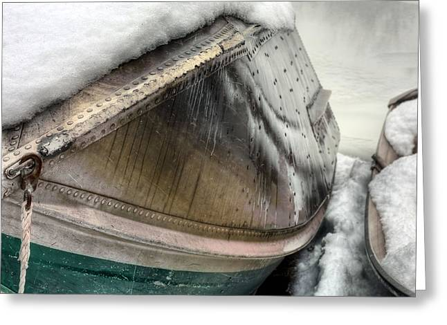 Winters Edge Greeting Card by JC Findley