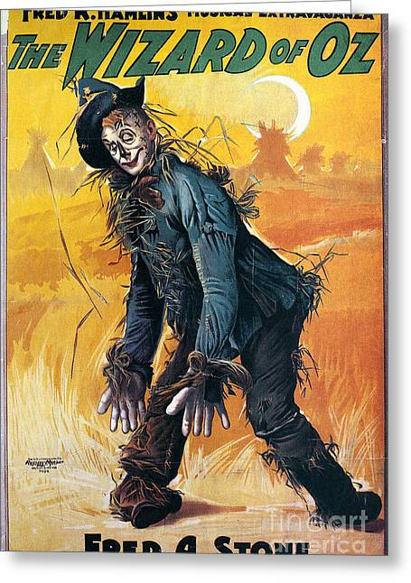 Wizard Of Oz, 1903 Greeting Card by Granger
