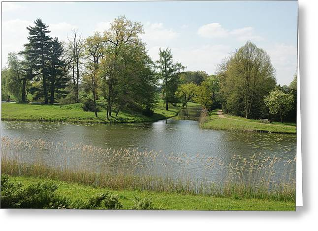 Woerlitzer Park Greeting Card by Olaf Christian