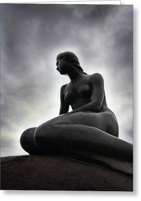 Woman Standing Strong Greeting Card