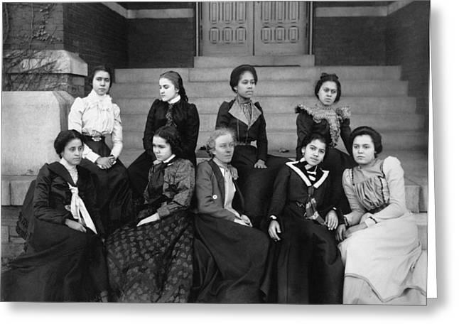 Women, C1899 Greeting Card