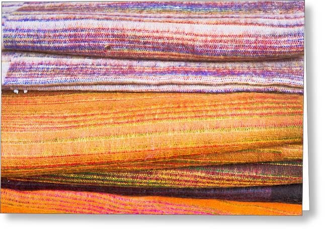 Wool Blankets Greeting Card
