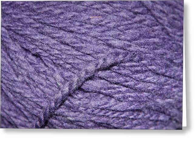 Wool Pattern Greeting Card