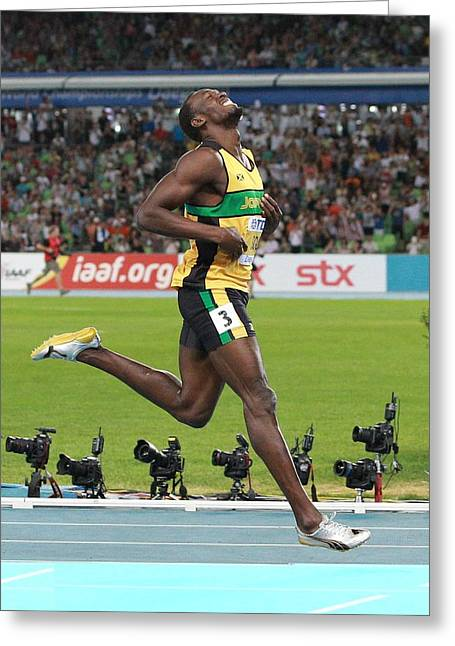 World Athletics Championships, Korea Greeting Card