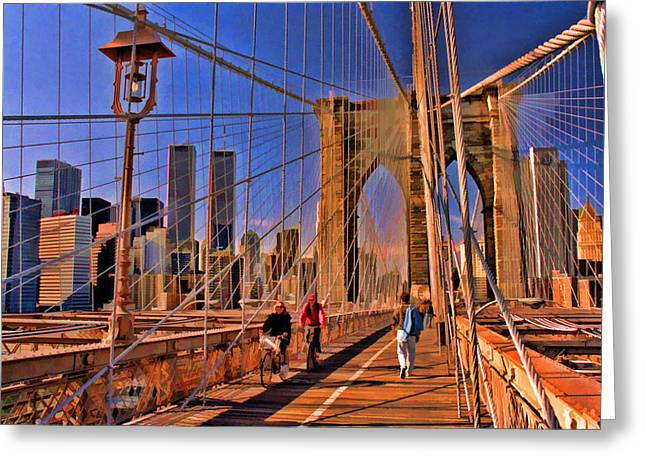World Trade Center 4 Greeting Card by Allen Beatty