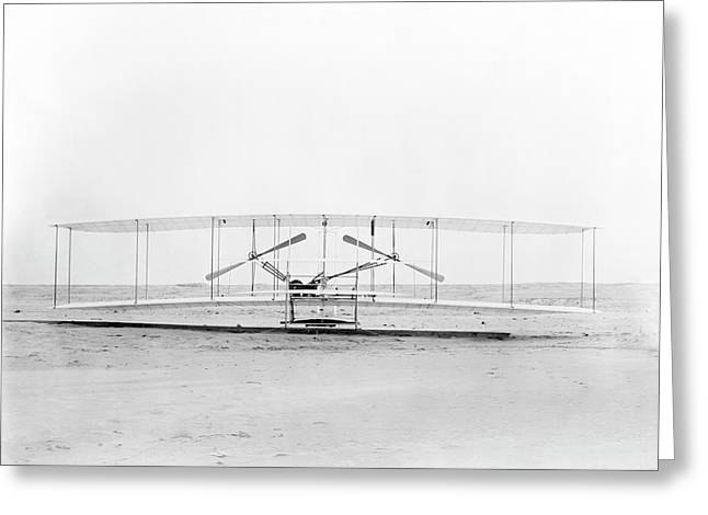 Wright Flyer Greeting Card