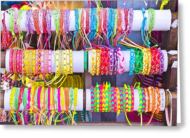 Wristbands Greeting Card by Tom Gowanlock