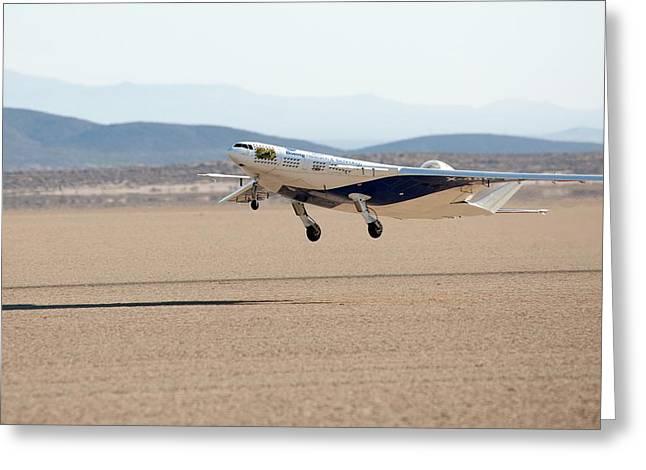 X-48c Blended Wing Body Aircraft Greeting Card by Nasa/carla Thomas