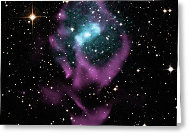 X-ray Binary Stars Greeting Card