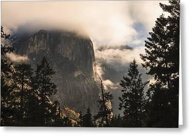 Yosemite Greeting Card by Muhie Kanawati
