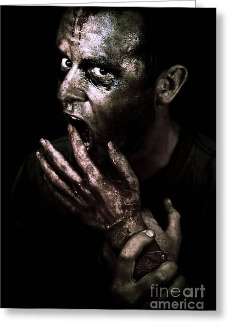 Zombie Apocalypse Greeting Card by Jorgo Photography - Wall Art Gallery