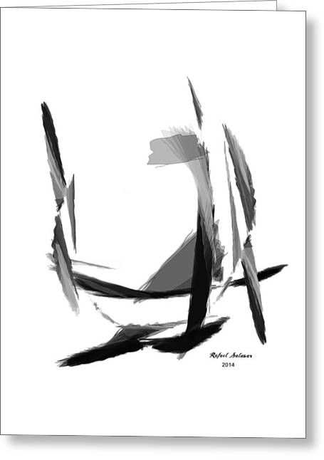 Abstract Series II Greeting Card