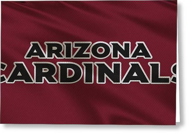 Arizona Cardinals Uniform Greeting Card by Joe Hamilton